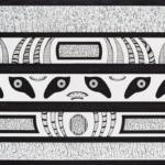 Kaigue. Tinta y marcador sobre papel. 39,5 x 45 cm. 2015