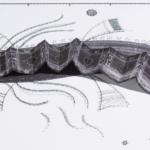 Tinta, marcador , corrector y papel sobre papel. 21 cm. x 30 cm. 2014